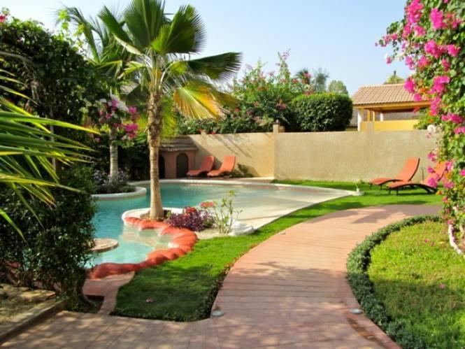 Photo 5 de la Villa en location pour vos vacances au Sénégal.