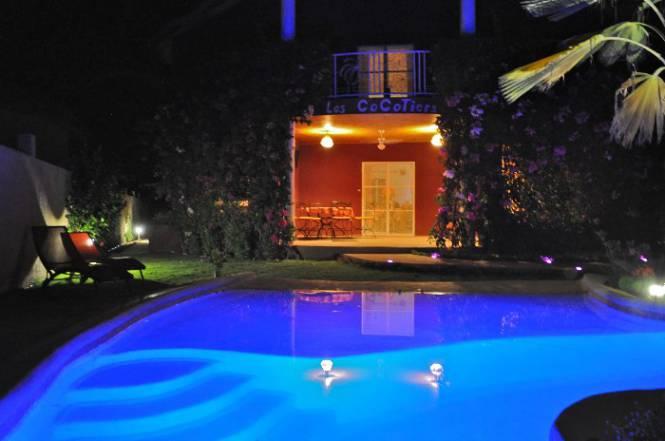 Photo 1 de la Villa en location pour vos vacances au Sénégal.