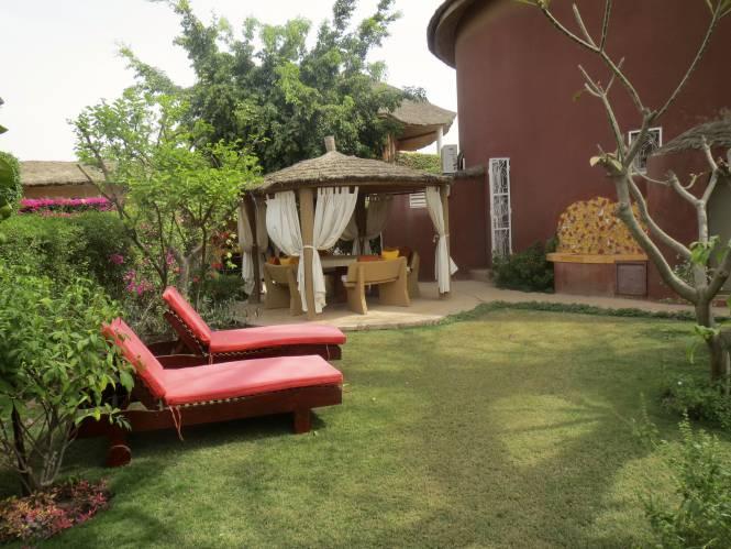 Photo 4 du La villa vue de l'extérieure