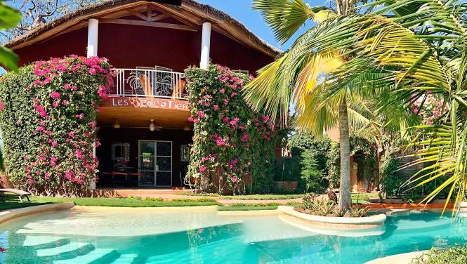 Photo 1 du La villa vue de l'extérieure